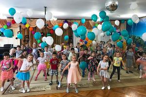Утренник в подшефном детском саду  «Умка», посвященный Дню защиты детей, 1 июня 2017 года ©Фото предоставлено пресс-службой Банка ЗЕНИТ Сочи