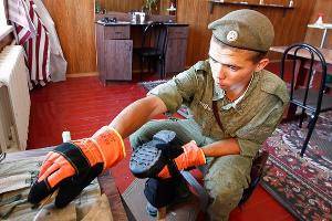Батальон железнодорожной бригады передислоцировался в Керчь ©Влад Александров, ЮГА.ру