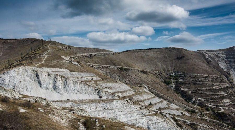 Пейзаж одной из трасс ©Фото из официального сообщества забега vk.com/markotkh2017