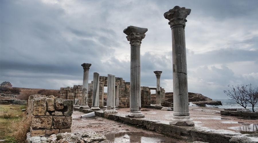 Развалины Херсонеса. Крым ©Фото Dmitry A. Mottl c сайта commons.wikimedia.org
