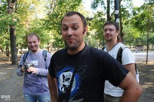 Встреча с депутатом Госдумы Ильей Пономаревым в Краснодаре ©Елена Синеок, ЮГА.ру