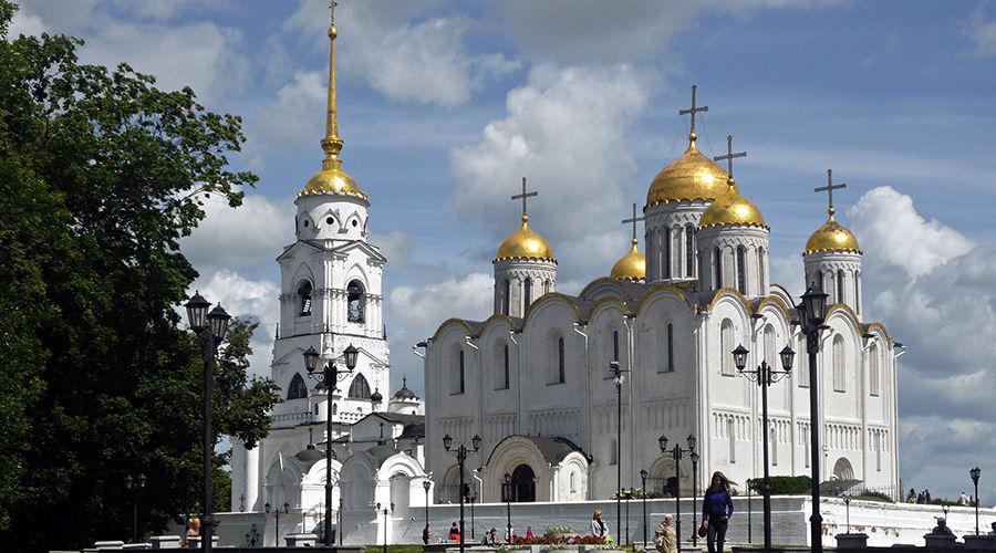 г. Владимир, Успенский собор ©Фото Hd Elen с сайта  commons.wikimedia.org