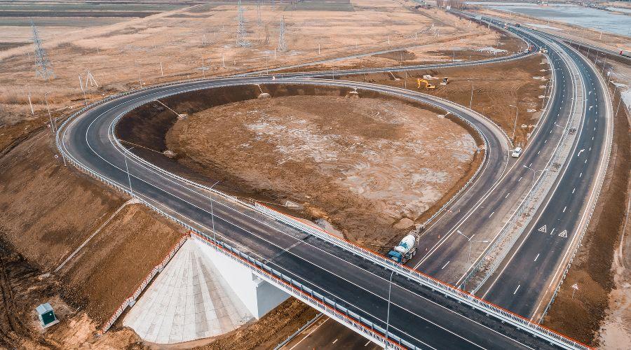 Дорога в обход Анапы ©Фото пресс-службы Упрдор «Черноморье»