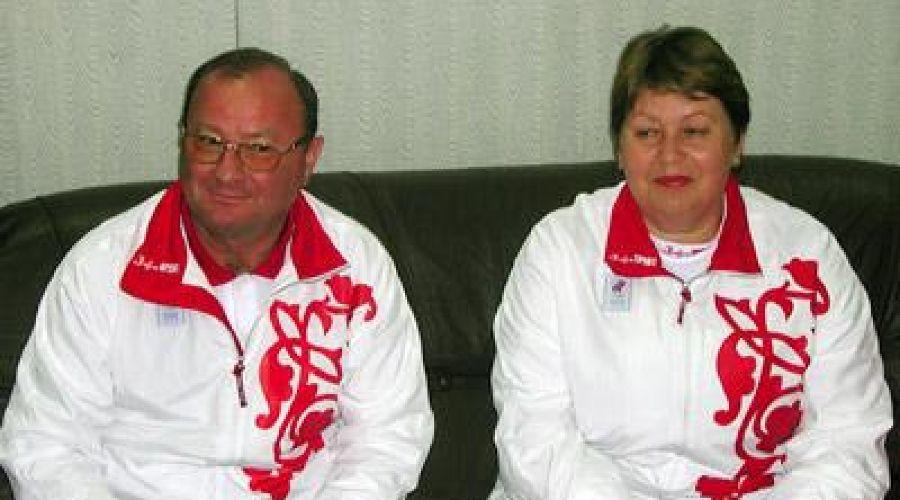 Олег Запорожченко и Людмила Немежан ©Фото Юга.ру
