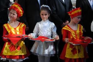 Открытие Цхинвальской швейной фабрики ©Елена Синеок, ЮГА.ру