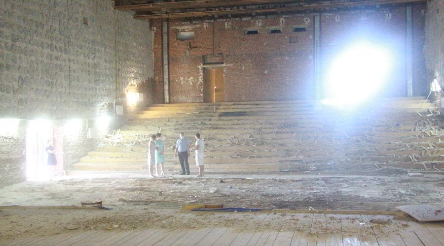 Ремонт в Тбилисском районном Доме культуры ©Фото пресс-службы администрации Тбилисского района