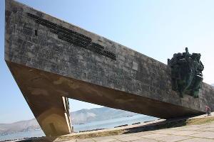 Мемориал «Малая земля» ©Фото с сайта wikipedia.org