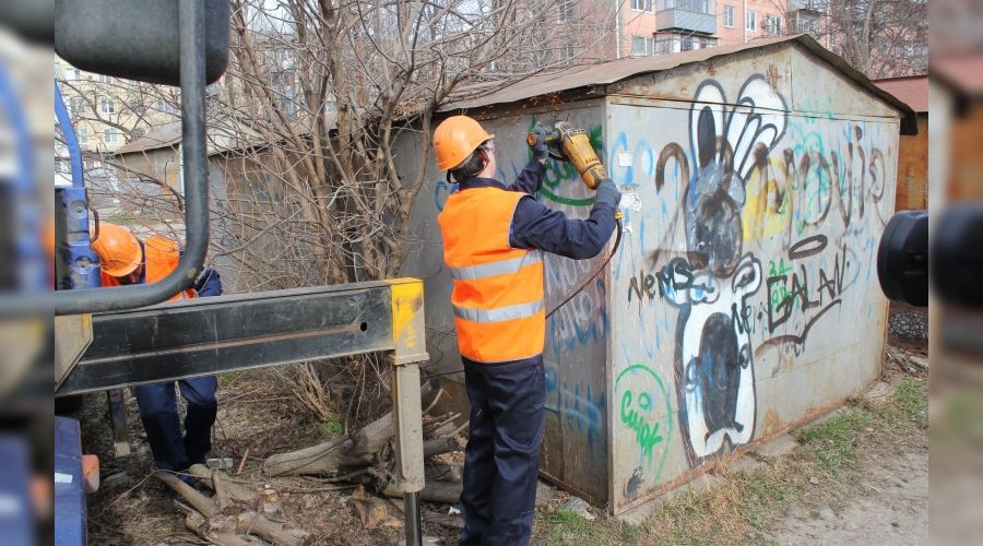 Гараж ©Фото пресс-службы администрации Краснодара