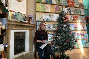 Анна Кадикова, владелица книжного магазина «Чарли» в Краснодаре ©Фото Ангелины Трофименко, Юга.ру