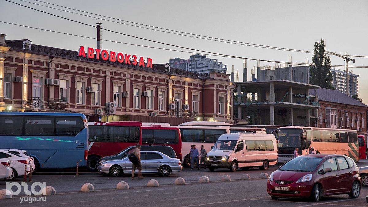 Отправная точка маршрута — краснодарский автовокзал ©Фото Евгения Мельченко, Юга.ру