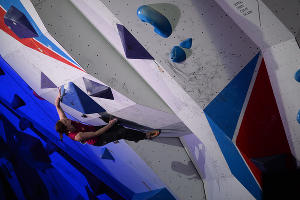III Всемирные зимние военные игры. Соревнования по скалолазанию ©Фото Никиты Быкова, Юга.ру