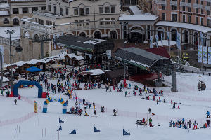 Всемирный день снега в Сочи ©Нина Зотина, ЮГА.ру