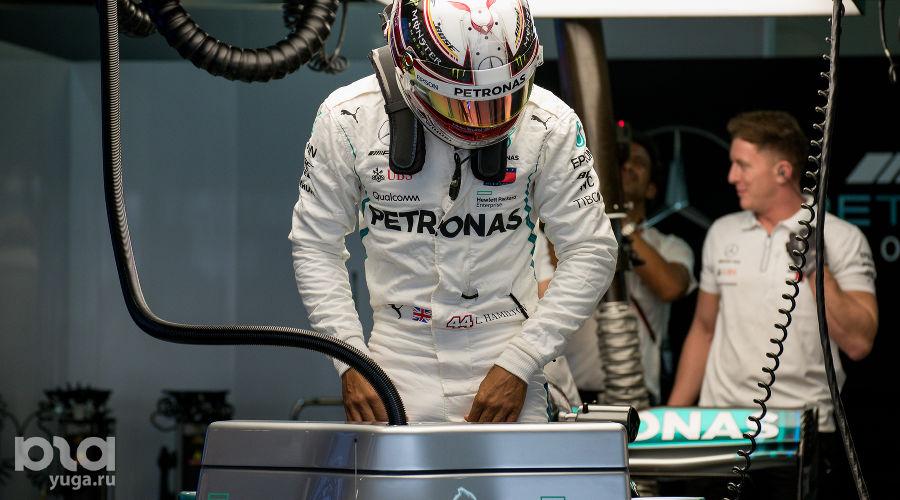 Льюис Хэмилтон, Гран-при России «Формулы-1» в Сочи, сентябрь 2018 ©Фото Екатерины Лызловой, Юга.ру