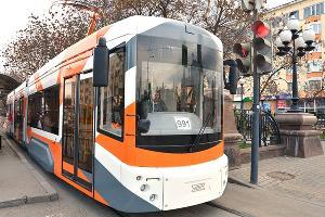 Трамвайный вагон «71-409-01» ©Фото пресс-службы Уральского завода транспортного машиностроения
