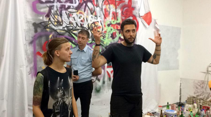 Софико Арифджанова и Павел Никулин в КЦ «Типография» ©Фото Юга.ру