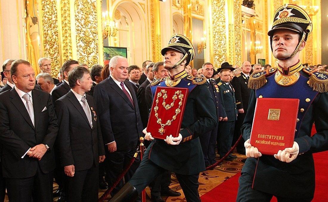 7 мая 2012 года. Инаугурация президента РФ ©Фото с сайта kremlin.ru