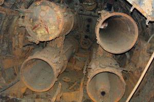 Внутри подводной лодки М-261, 2016 год ©Кадр из видео канала «MoKra» на youtube.com, youtube.com/channel/UCk1aFPv2GdqDmFM2NO9ZRDg