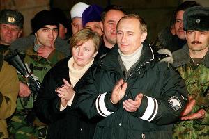 Людмила Путина и Владимир Путин ©nn.by
