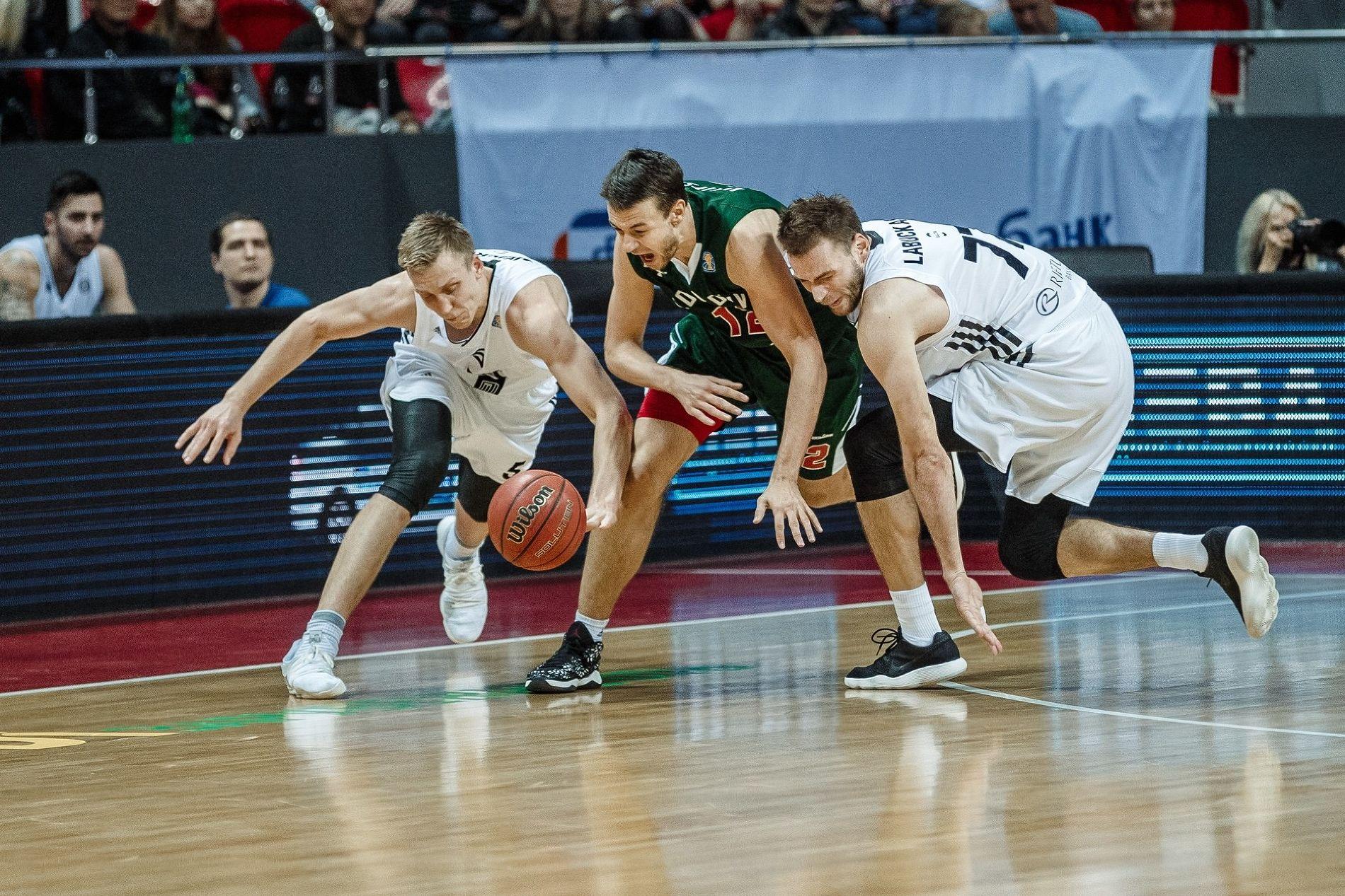 «Локомотив-Кубань» навыезде обыграл ВЭФ