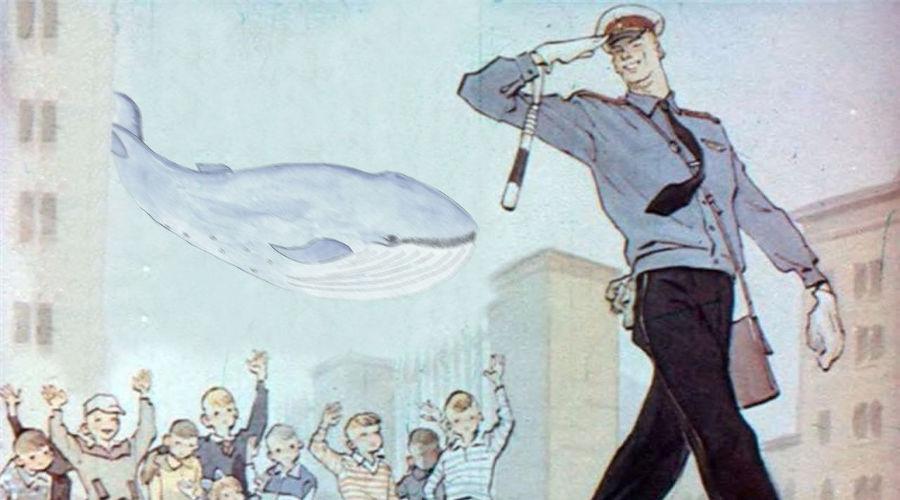 Кадр из мультфильма «Дядя Степа — милиционер» ©Коллаж Сергея Юхновского, Юга.ру