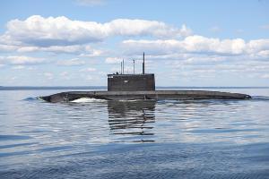 Дизель-электрическая подводная лодка «Краснодар» ©Фото пресс-службы Министерства обороны РФ