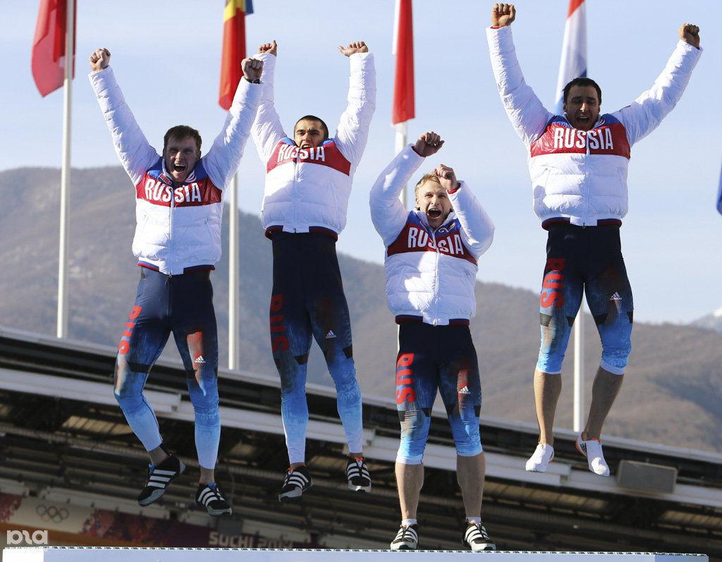 Олимпиада бобслей четверки