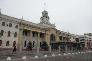 Железнодорожный вокзал Краснодар-1 ©Фото Елены Синеок, Юга.ру