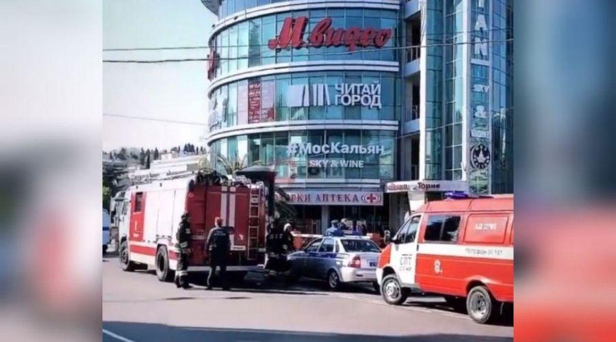 ©Скриншот видео из паблика «ЧП Сочи» в «Вконакте», vk.com/chpsochi
