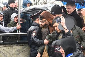 Акция сторонников Навального в Краснодаре, 26 марта 2017 года ©Фото Елены Синеок, Юга.ру