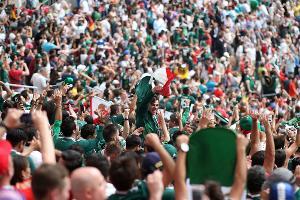 Фанаты сборной Мексики ©Фото с сайта fifa.com