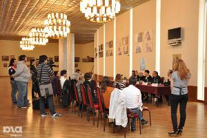 """Пресс-конференция по спектаклю """"Быть или не быть"""" ©Фото Юга.ру"""