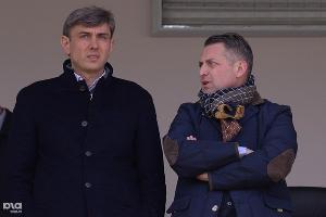 Сергей Галицкий и Арам Фундукян ©Михаил Ступин, ЮГА.ру