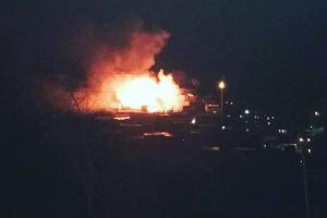Пожар в Тиси-Ахитли ©Фото со страницы instagram.com/tut.tsumada