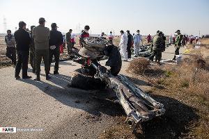 Место крушения самолета ©Фото Hossein Mersadi, Fars News Agency, (CC BY 4.0)