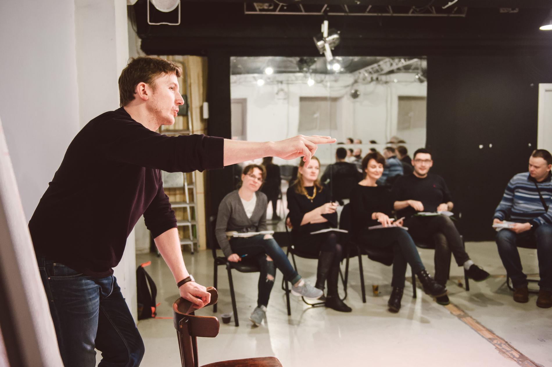 Мастер-класс по сторителлингу ©Фото Юлии Сверчковой, facebook.com/ysverchkova