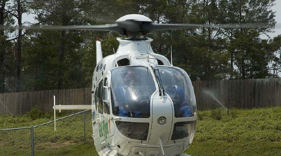 Вертолет Eurocopter EC135 ©sibvertolet.ru