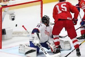 Матч ЧМ-2019 по хоккею Россия — Норвегия ©Фото пресс-службы Федерации хоккея России
