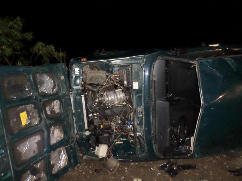НаСтаврополье пенсионер умер в итоге опрокидывания автомобиля
