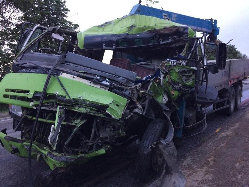 ВПредгорном районе влобовом ДТП погибли два человека