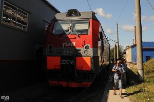Моечный комплекс для локомотивом в Горячем Ключе ©Стас Александров, ЮГА.ру