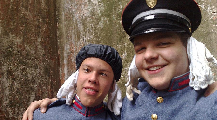 Степан Ремезков (справа) ©Фото Юга.ру