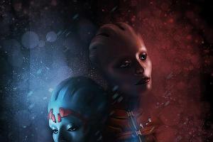 Mass Effect 2, Самара и Моринт ©Хлыстова Анна