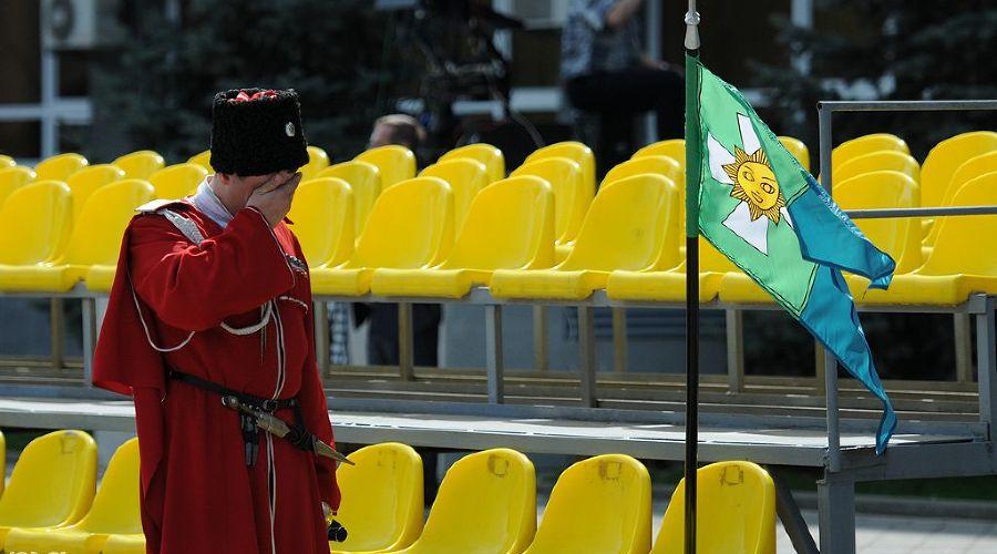 2012 год в фотографиях. Парад казаков в Краснодаре ©http://yuga.ru/photo/1237.html