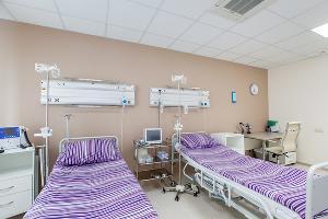 Палата интенсивной терапии для взрослых в Роддоме Клиники Екатерининская ©Фото пресс-службы Клиники Екатерининская