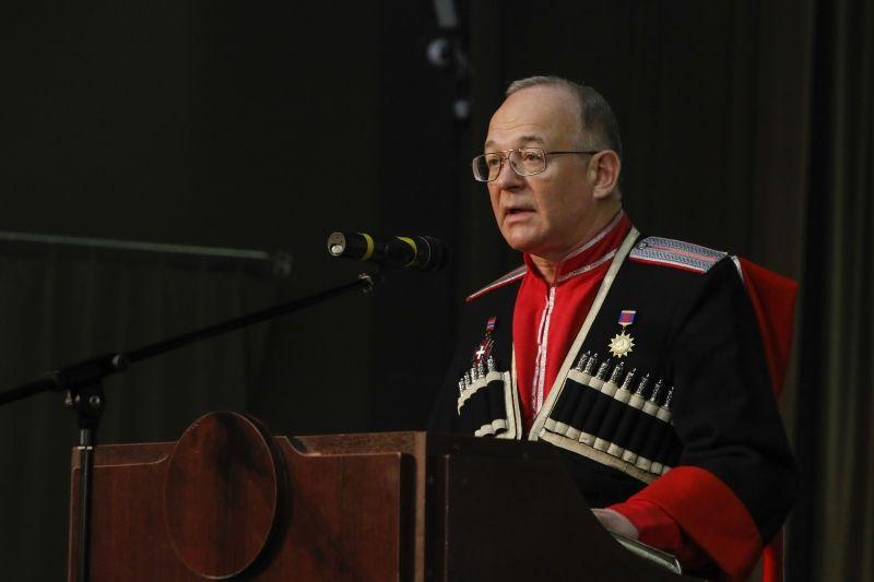 Сергея Васина выбрали атаманом Екатеринодарского регионального казачьего общества