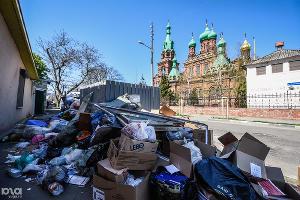 Мусорный коллапс. Краснодар, 4 апреля ©Фото Юга.ру