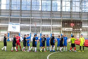 Кубок металлургии по футболу в Москве ©Фото пресс-службы АЭМЗ