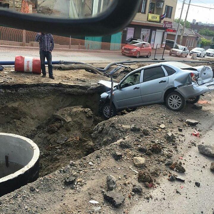 ВРостове наСеверном шофёр «Камаза» спровоцировал ДТП спятью машинами
