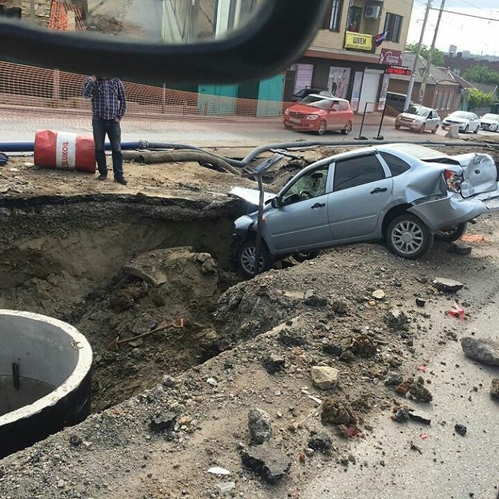 ВРостове «КамАЗ» протаранил 5 авто