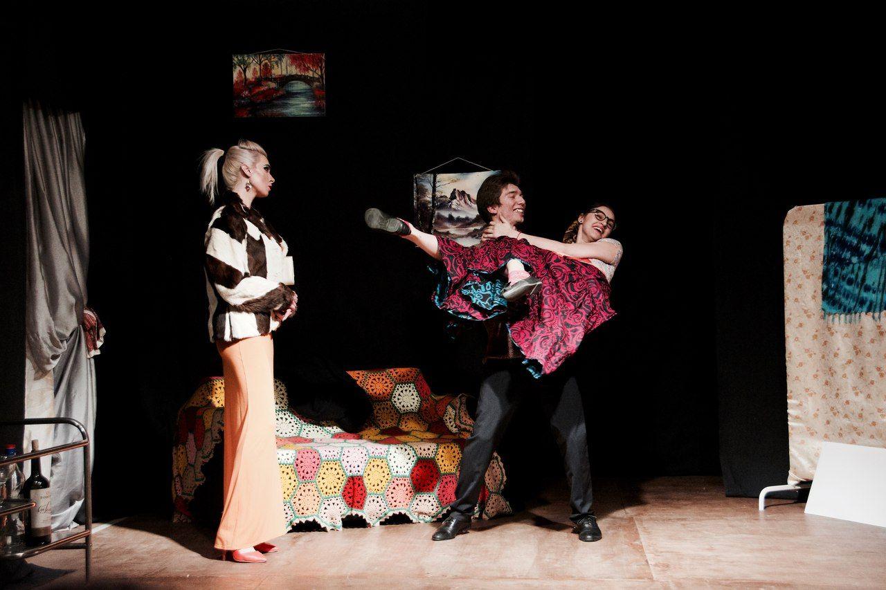 Спектакль в театре «Люди-Игры» ©Фото из архива театра